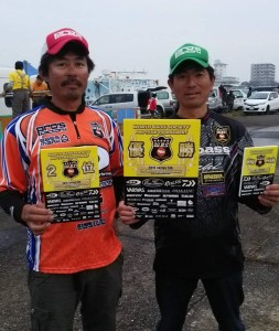 W.B.S.最終戦でプロズファクトリープロスタッフの 長岡正孝チームが優勝、同じくプロスタッフの 松村寛チームが準優勝しました。